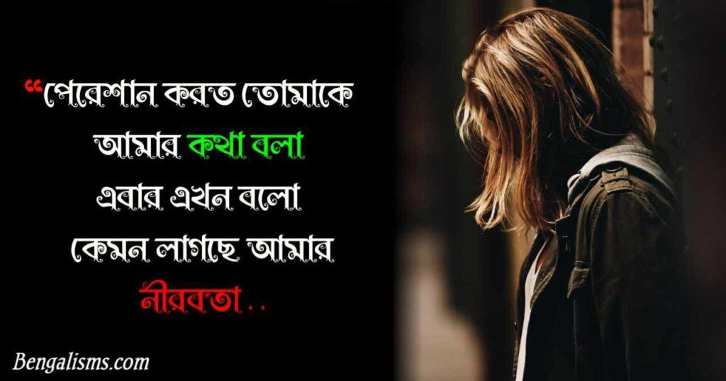 bengali shayari sad