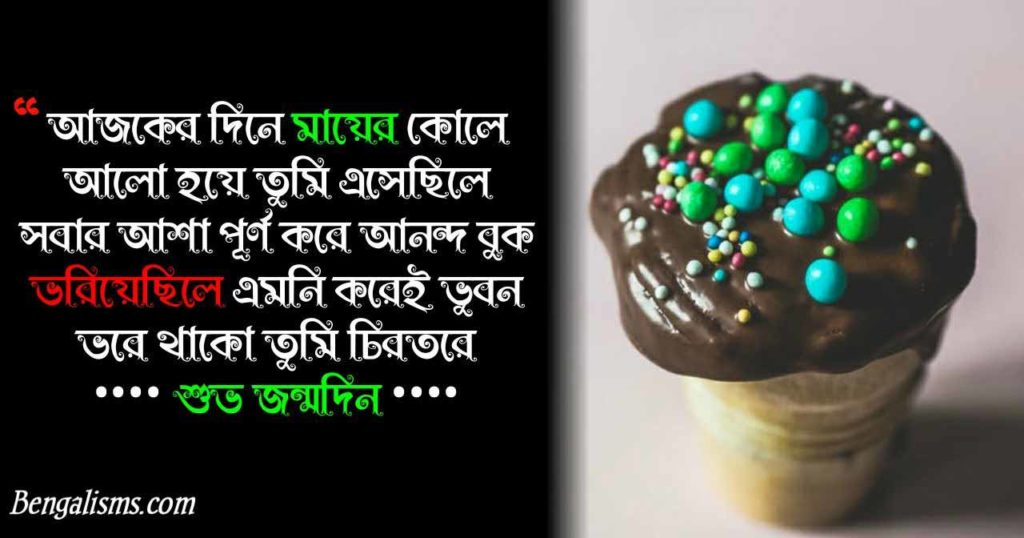 happy birthday quotes in bengali