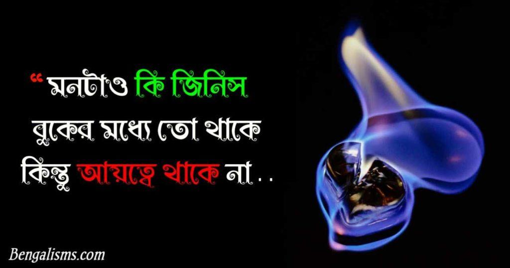 new bangla sad shayari