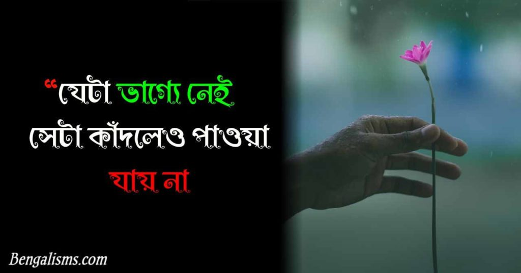 very sad shayari bengali