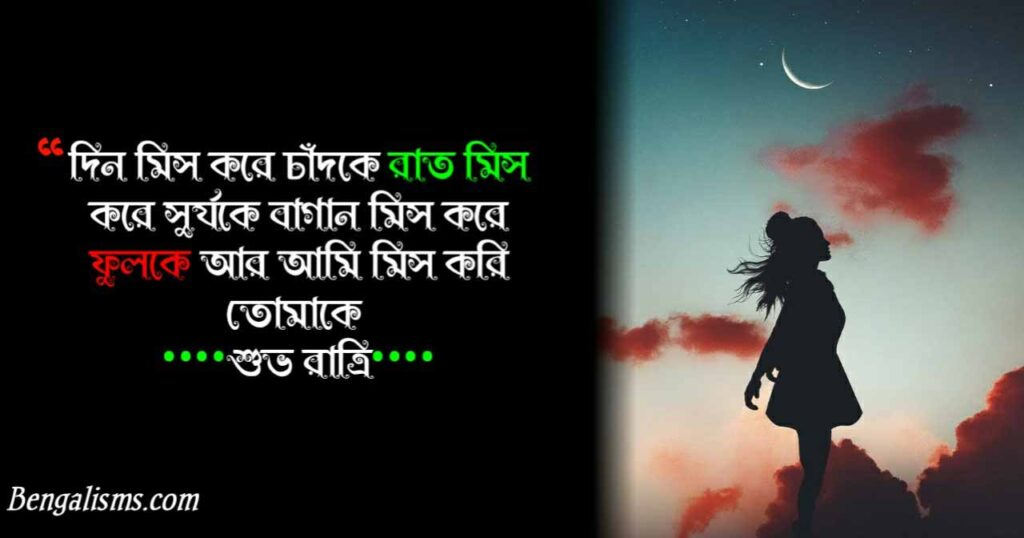 good night shayari bengali