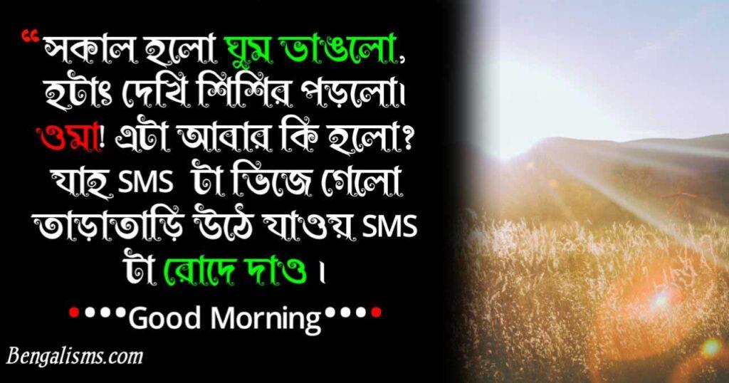bangla good morning shayari
