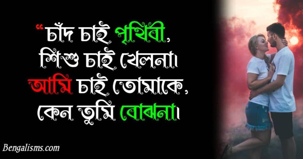 husband wife love shayari bengali