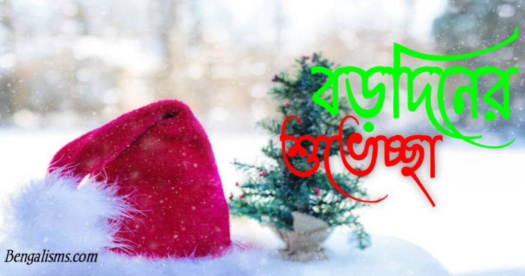 christmas wishes in bengali