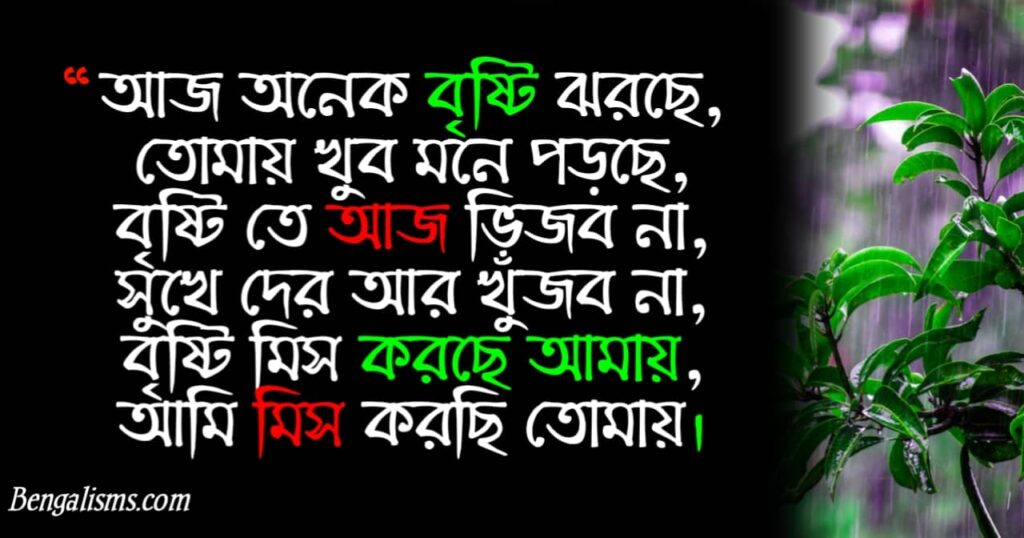 miss you sms in bengali